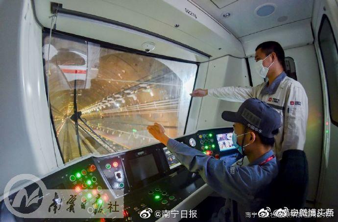 地铁2号线玉洞站至坛泽站正线接触网热滑成功,东延线来了