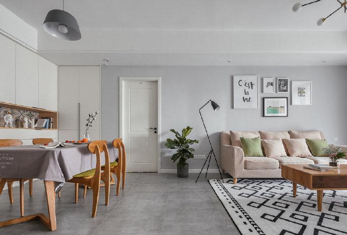 精致的配色让人倍感优雅的 北欧风格家居设计。。
