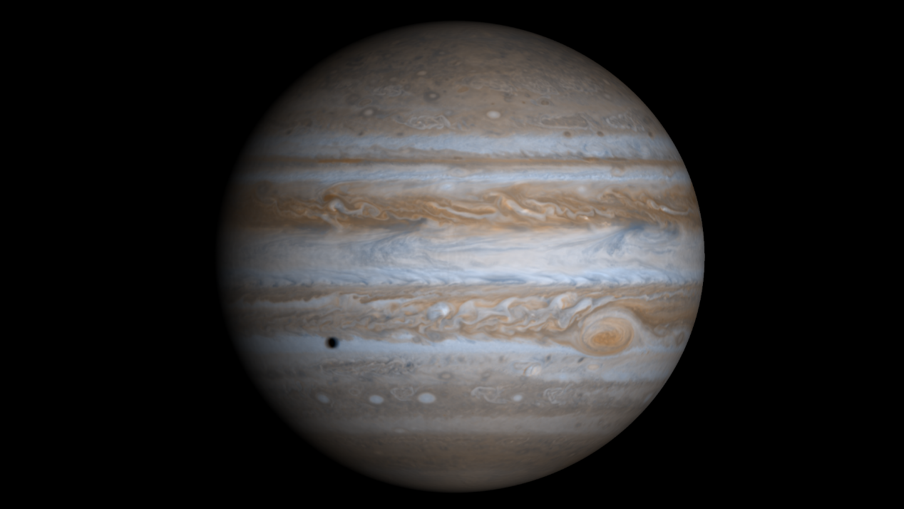 数张照片,带您领略不同形象的木星
