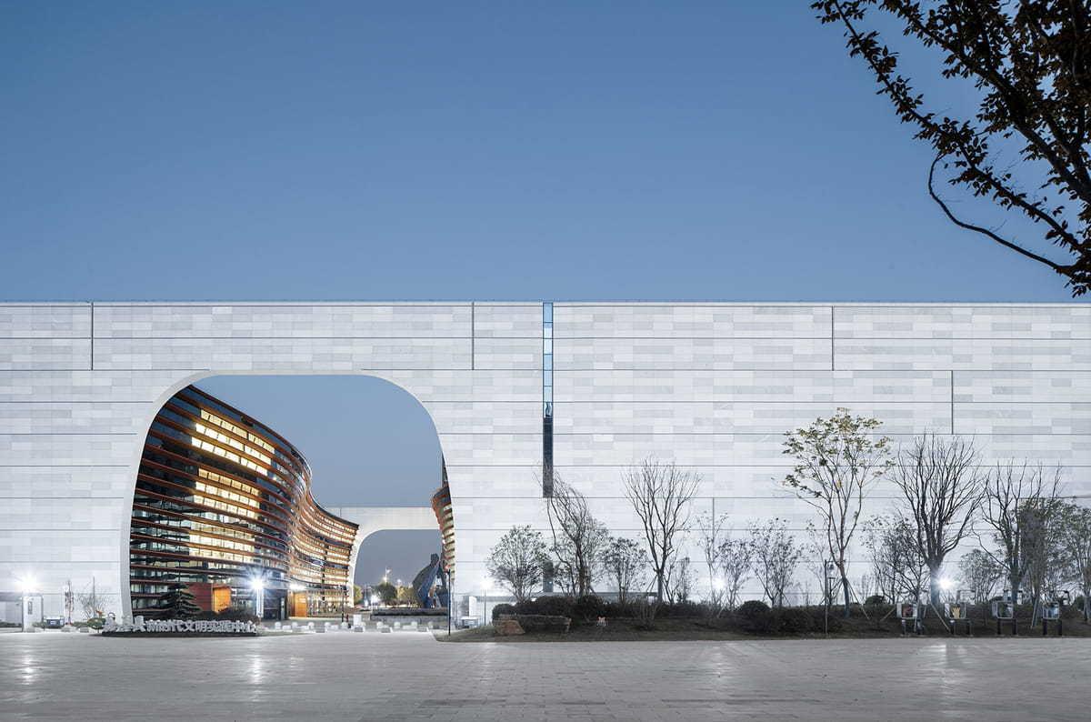 嘉善博物馆、图书馆丨浙江大学建筑设计研究院