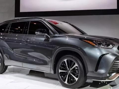 全新丰田汉兰达运动版亮相!外观更加年轻动感,双出排气+四驱!