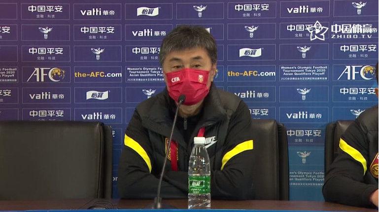贾秀全:要忘掉首回合的胜利,队员们都渴望晋级东京奥运会