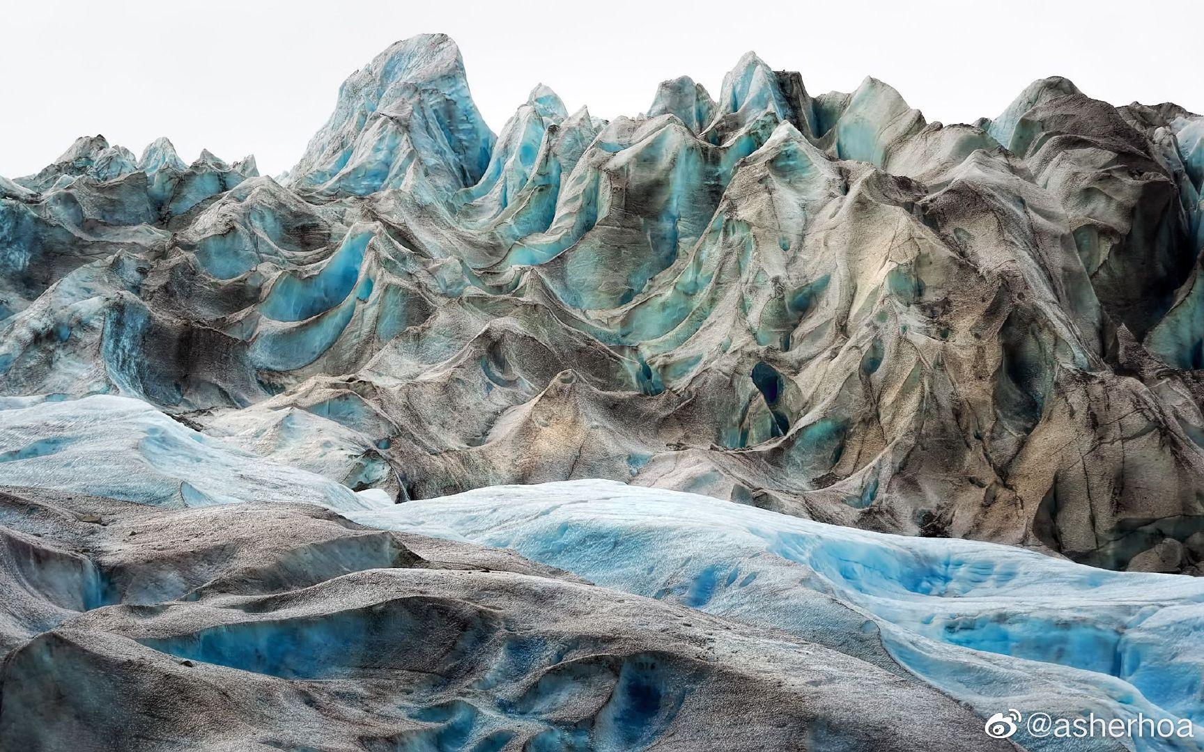 美国阿拉斯加州海恩斯的戴维森冰川最初于1867年被发现了
