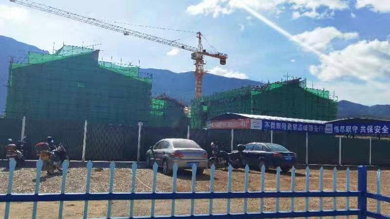 丽江轻轨一号线多项主体建筑完成 明年底投入运营