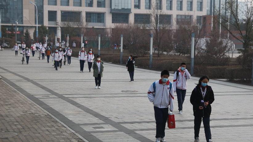 今天,内蒙古37.1万学子开学复课备战中高考