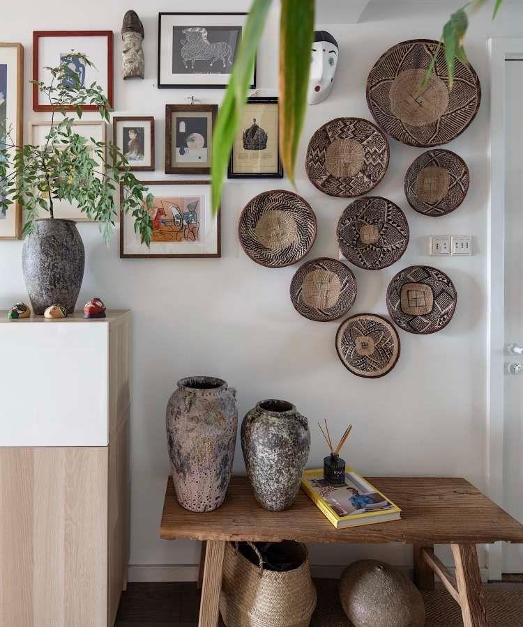 90㎡混搭文艺美家丨吴昊设计一个平静,放松,趣味的混搭之家