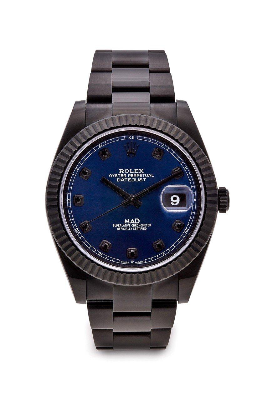 MAD Paris 推出全新 Rolex Datejust 41 哑光黑版本定制腕表⌚以 Rol