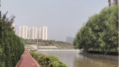 太美了!涧河新增一处滨河公园,看看在不在您家门口