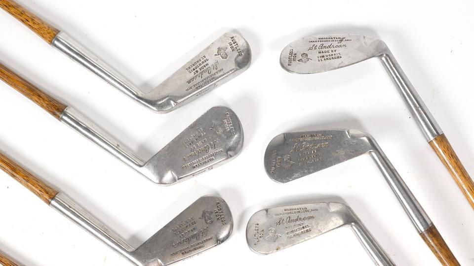 高尔夫收藏与历史之47 胡桃木铁杆的克里克标记 (I)