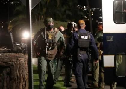 美国军官在豪华酒店无故开枪,与警方对峙10小时后自杀