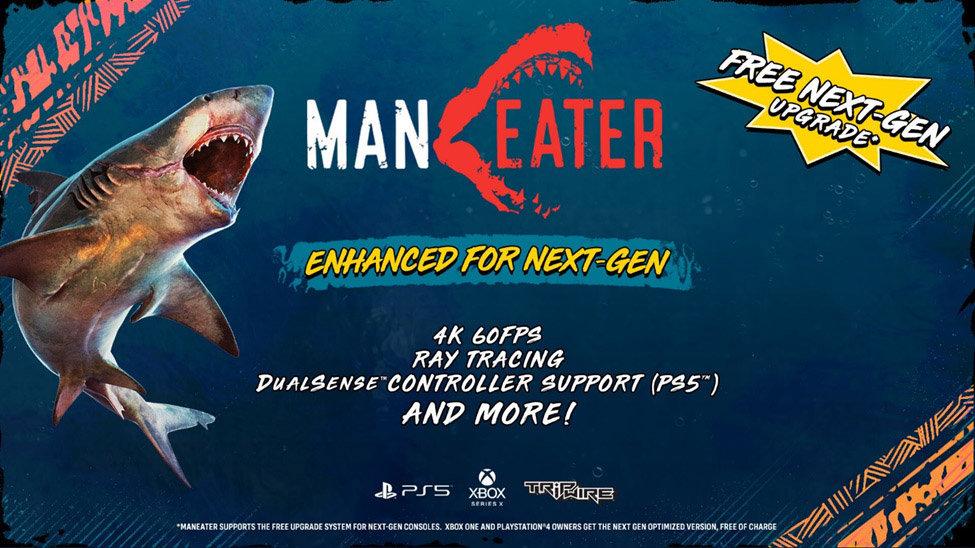 《食人鲨》确地登陆次世代主机 支持60帧原生4K