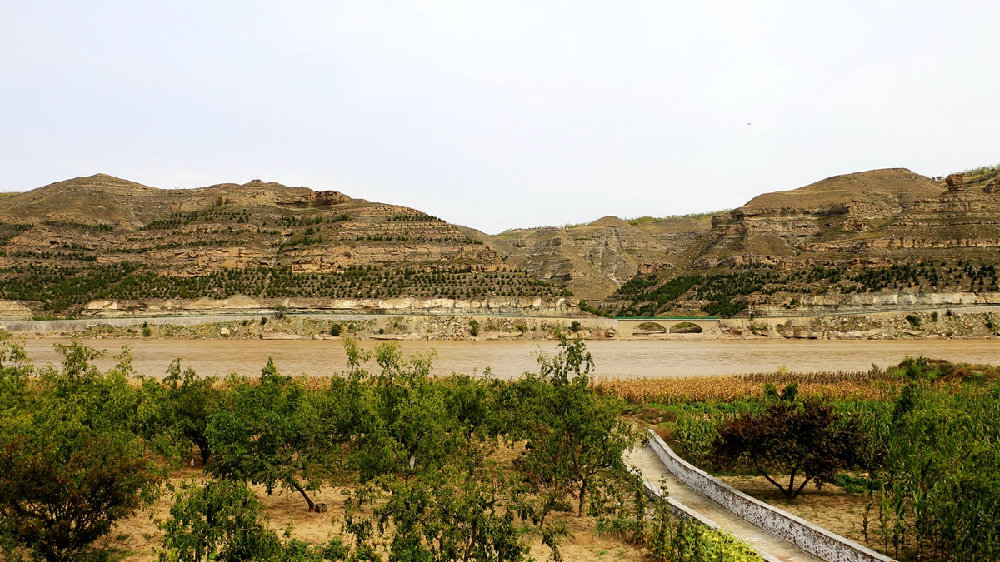 木头峪,被时光掩埋的古渡口,黄河上的一幅画,晋陕峡谷第一村