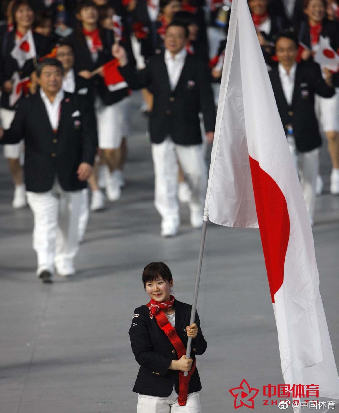 你还记得北京奥运会上各代表队的旗手吗