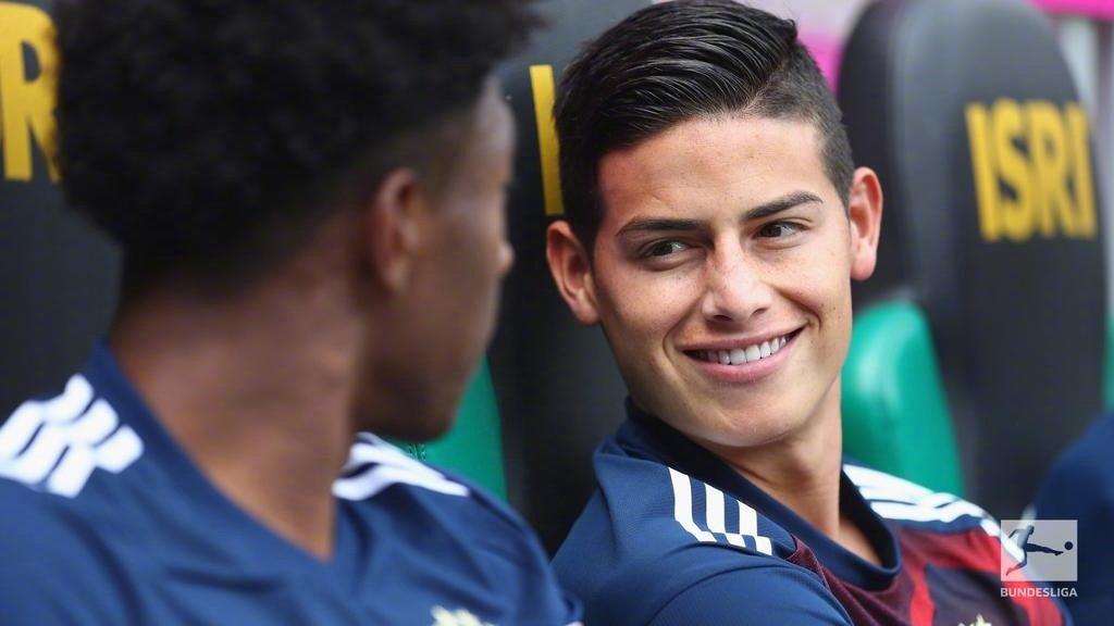 今天是前拜仁球星J罗的29岁生日 2014年世界杯金靴在德甲度过了两年