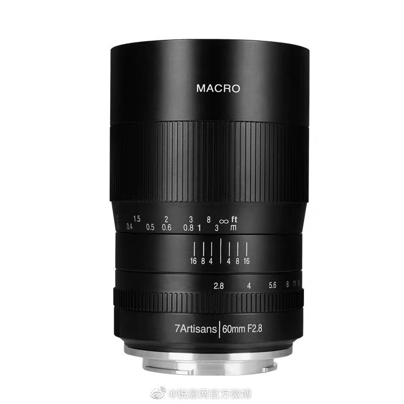 七工匠60MM F2.8微距镜头,专为微单打造