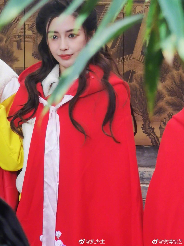 我的天啊,小红帽真的好好看!生图杀手Angelababy 我爱了!!!!