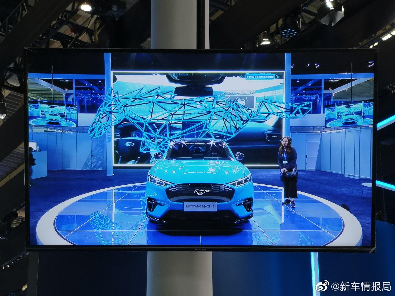 Mustang Mach-E实车图曝光,新车将在今年北京车展期间正式发布