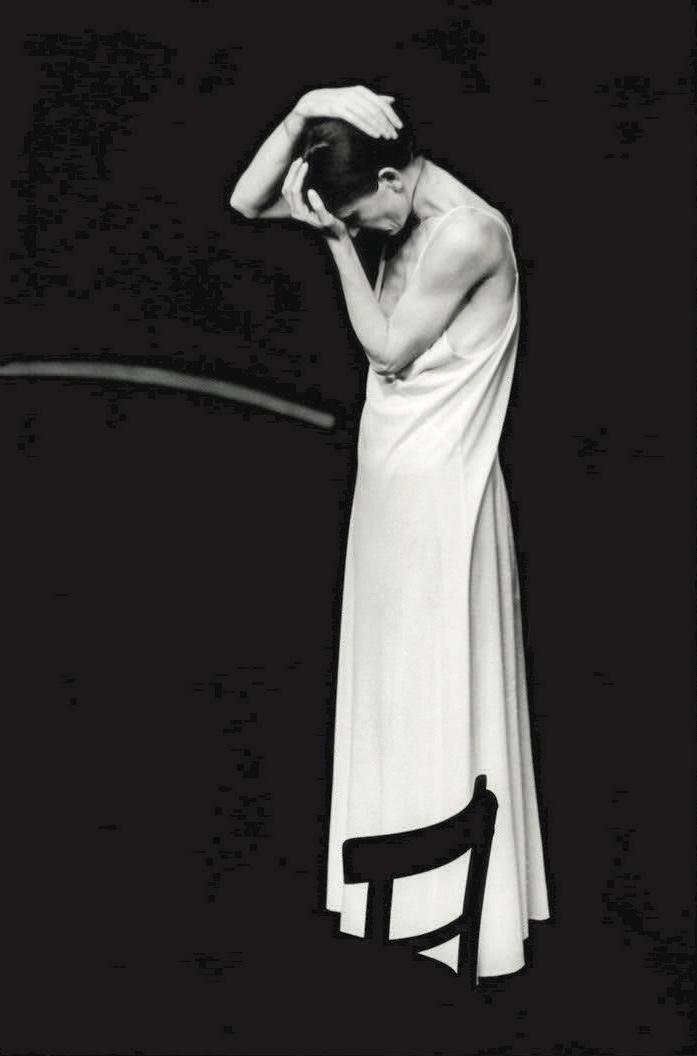 Pina Bausch(1940-2009)德国著名现代舞编导家在她持续影响的现