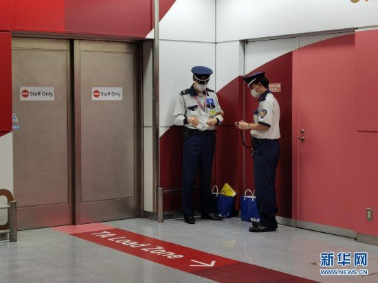 疫情下的日本机场,如何确保运动员安全?