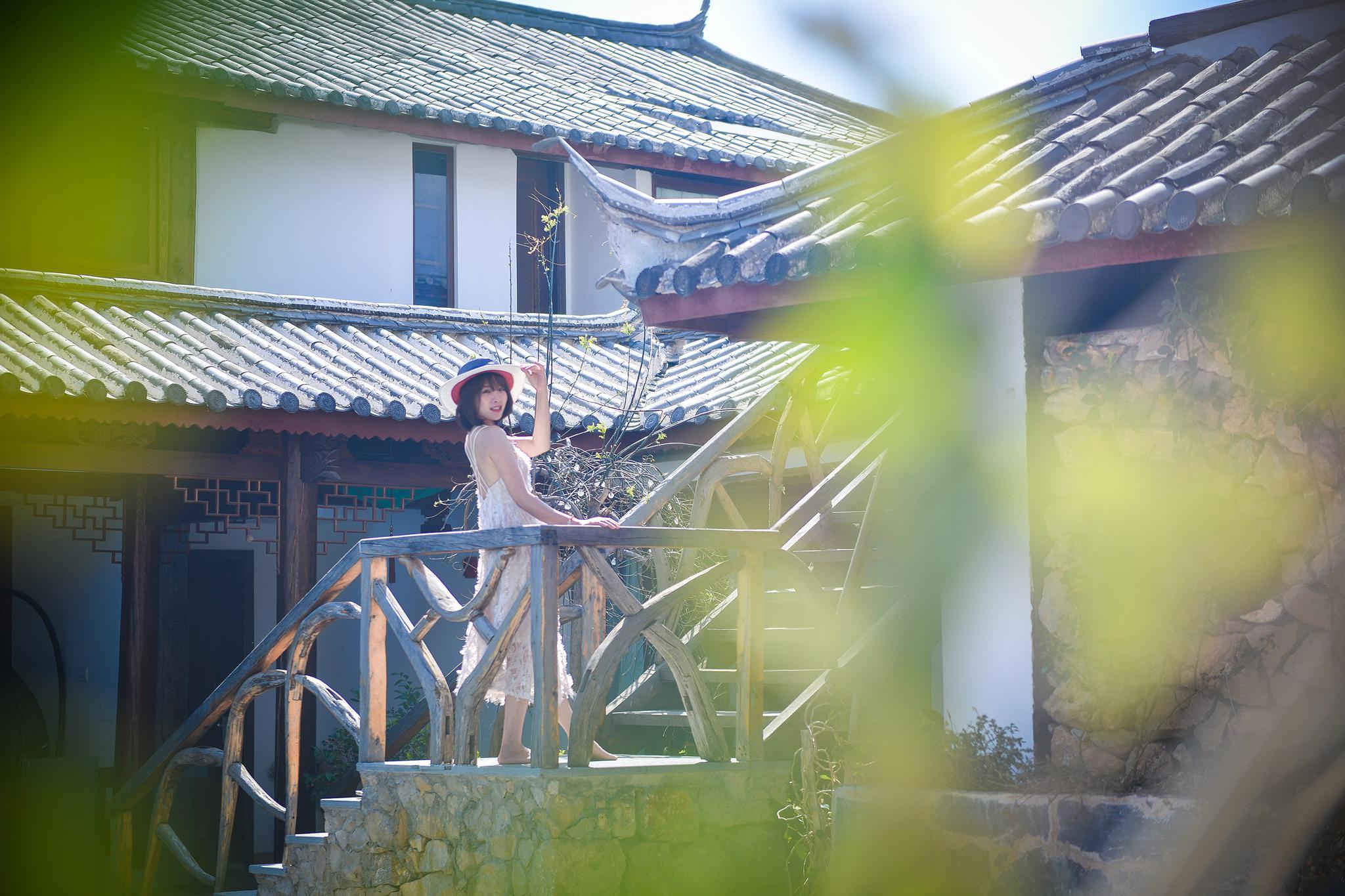 疫情过后来丽江旅游,豆花名宿客栈太美了,很适合拍照!