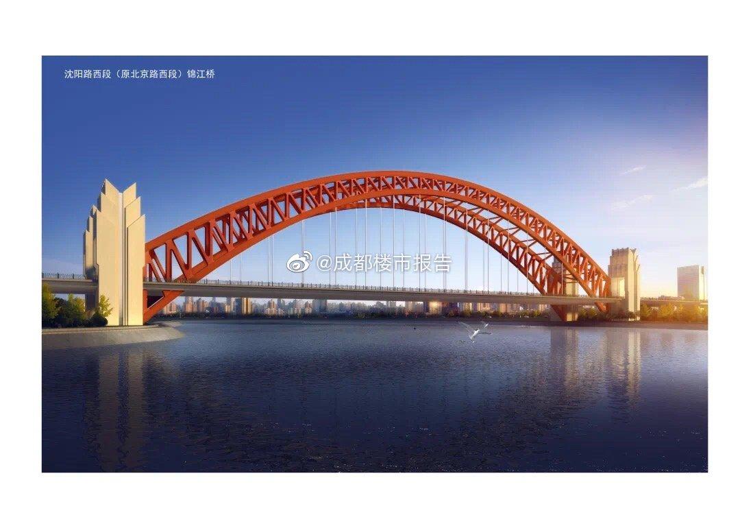 """天保湾大桥位于成都天府新区""""四横四纵""""路网之一的沈阳路上"""