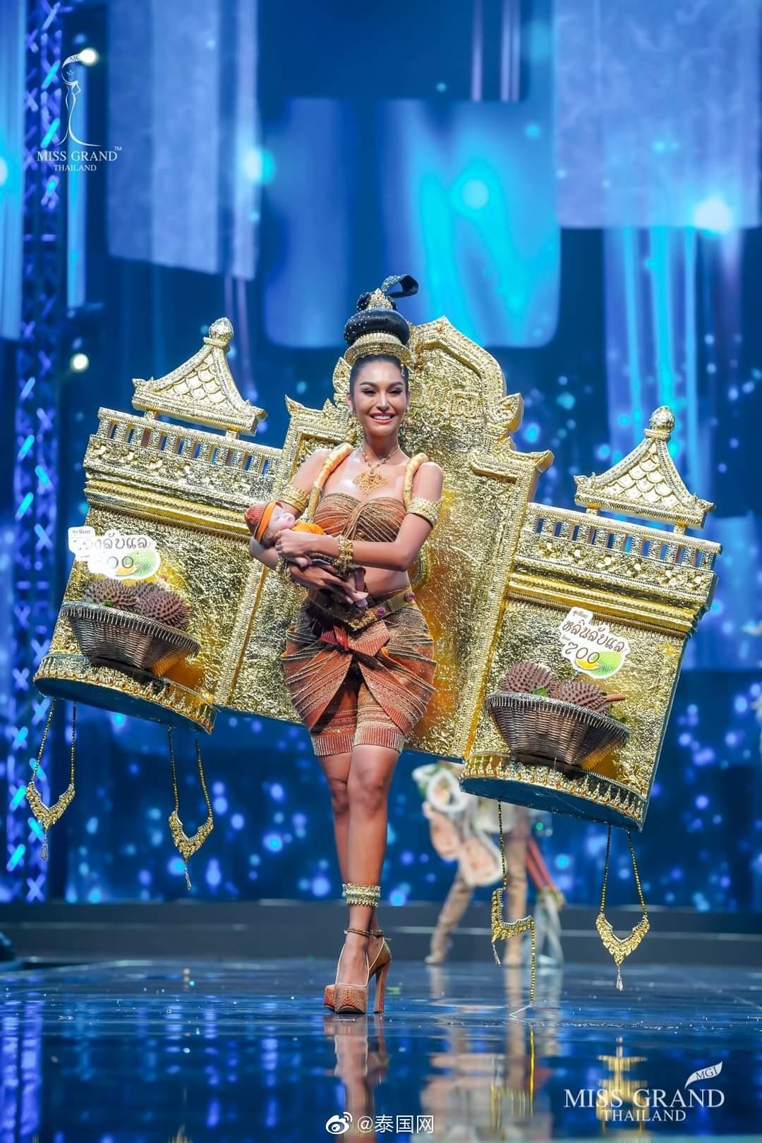 泰国miss grand thailand选美大赛佳丽国服秀第二弹,泰味十足(Cr