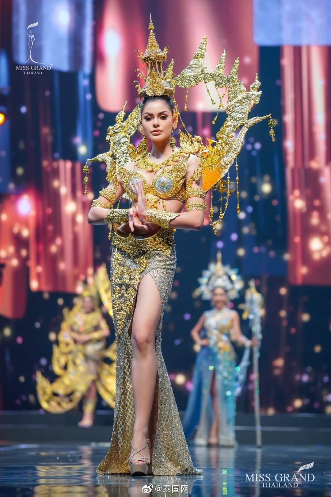 泰国miss grand thailand选美大赛佳丽国服秀第三弹,舍不得眨眼(Cr