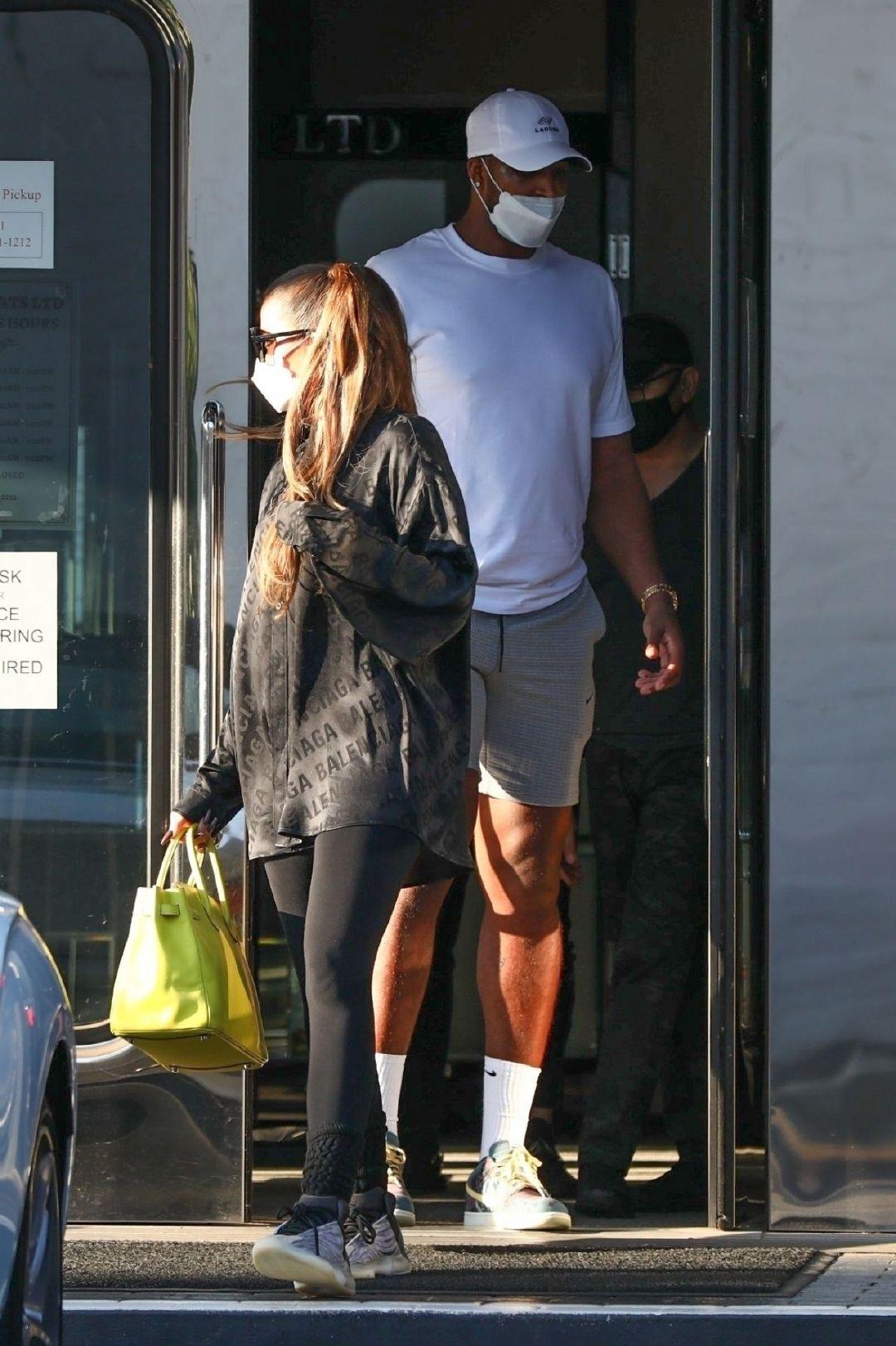 科勒·卡戴珊(Khloe Kardashian)和特里斯坦·汤普森(Tristan Thomps