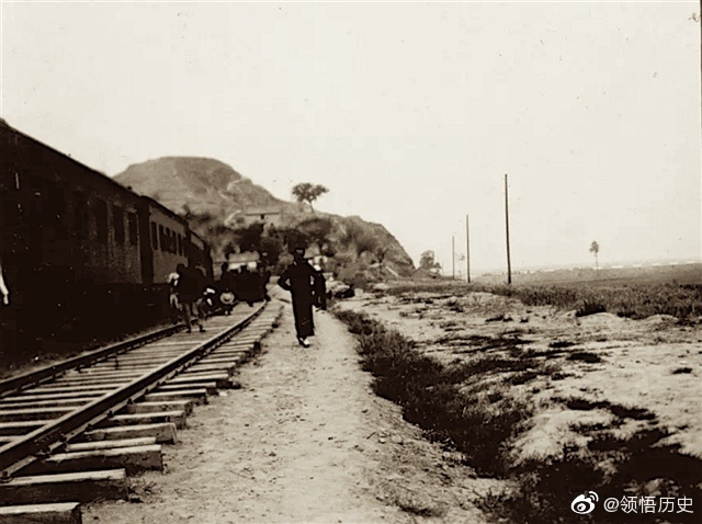 1910年詹天佑建造的京张铁路