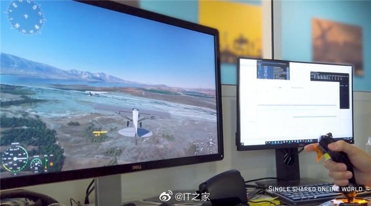 《微软飞行模拟器》多人游戏模式演示:可组队飞行