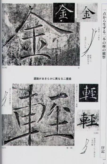 日本人出的书法教材