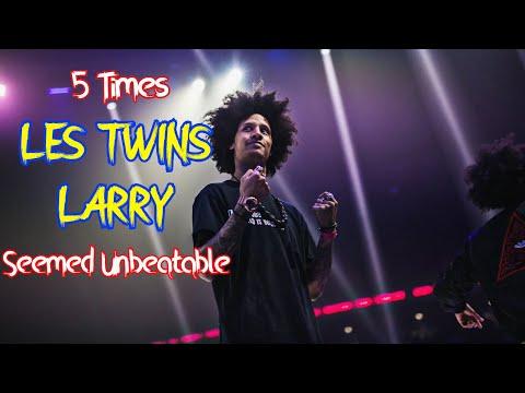 地表最强Hiphop双胞胎Les Twins成员Larry五大精彩比赛回顾