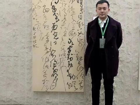 他的草书秉性直抒,不仅摘得第四届兰亭奖,还摘得12届国展大奖