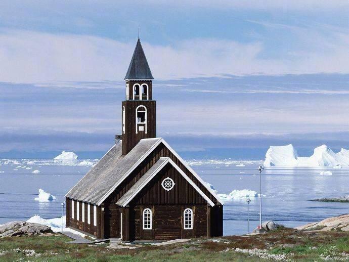 格陵兰海,和你相遇在世界尽头 。