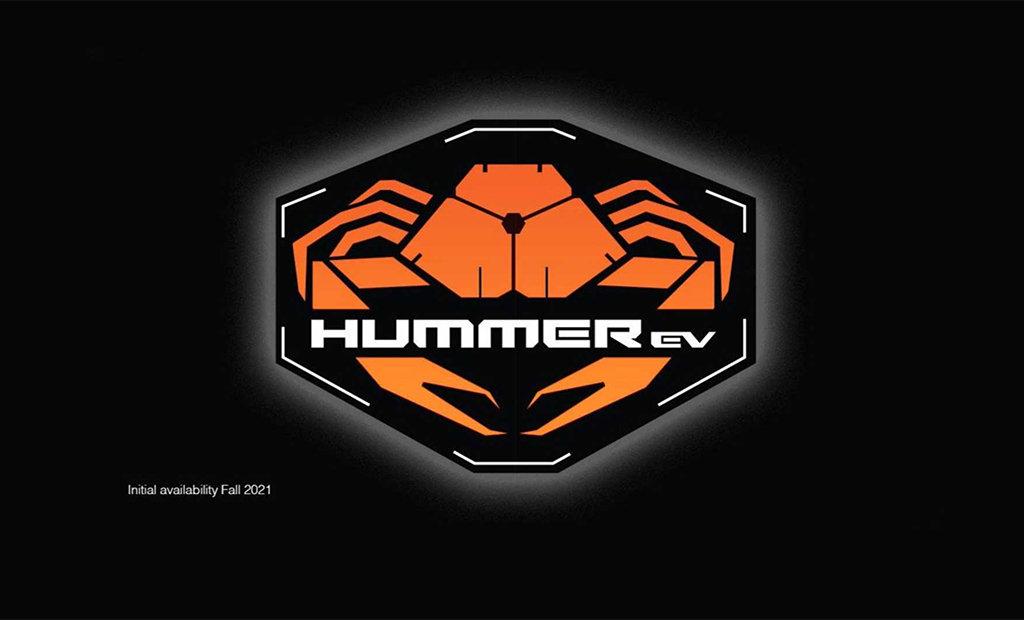 GMC Hummer EV新徽标发布,预示着新车将配备Crab模式(螃蟹模式)