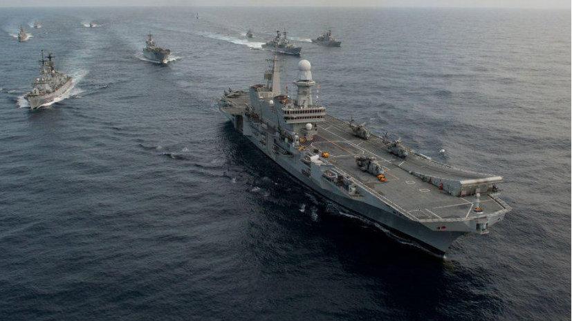 地中海骠骑,意大利海军加富尔号航母准备改装F-35B战斗机