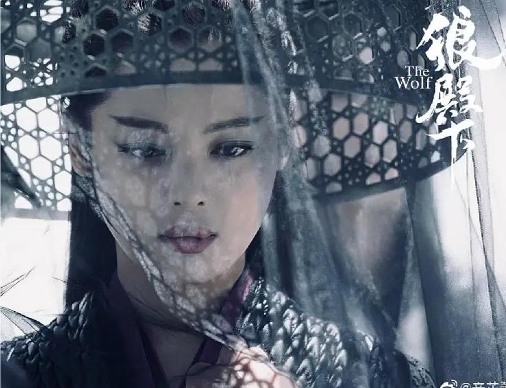 《狼殿下》开始被辛芷蕾的浮夸造型误导了以为是渤王和摘星感情路上的