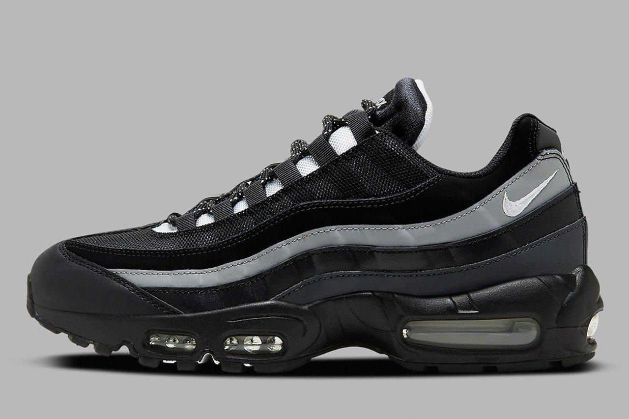 Nike Air Max 95 Essential 推出全新 黑白灰 极简配色