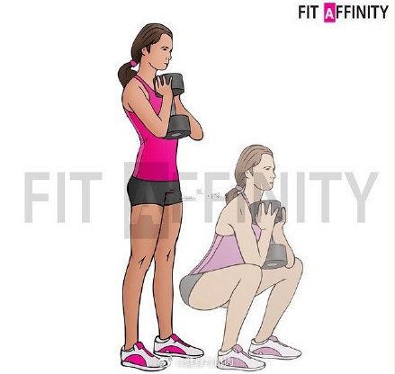 臀部动作合辑!挑4个做,20次、4组,减脂期一周一次即可
