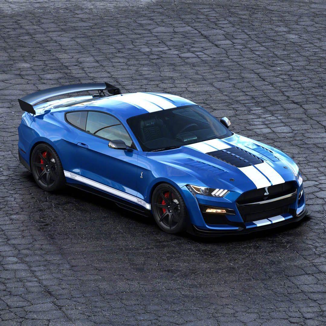 福特 野马shelby GT500又出了一台,最大功率超800马力