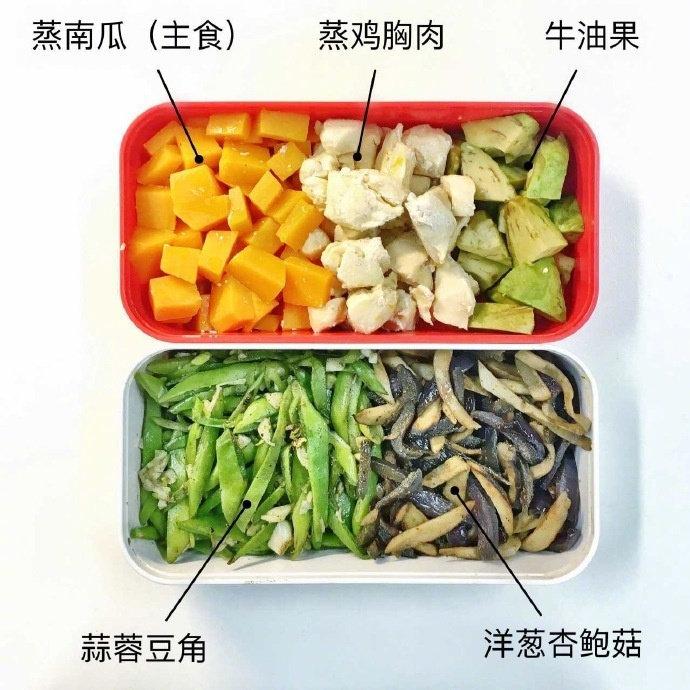 健身党自制午餐!超简易的减脂餐食谱!制作简单,搭配相当丰富