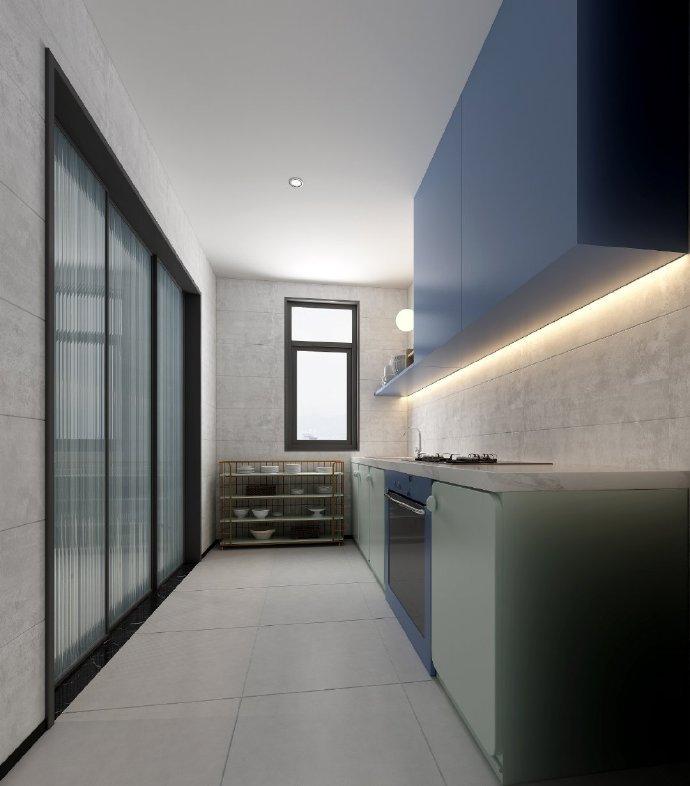 新时代的家装风格主流,魔幻红蓝配色冲突形成独特美感, 免费设计: