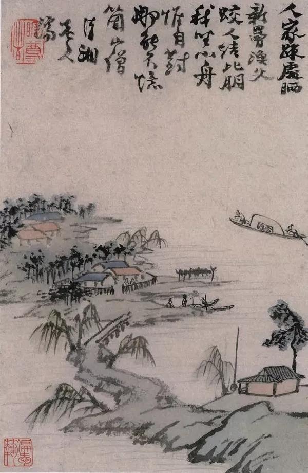 石涛、黄宾虹、齐白石、刘海粟、吴昌硕、漙心畬、张大千、吴湖帆、陈