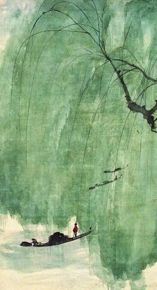 傅抱石:只要不放弃山水画,中国人的胸襟永远是阔大的