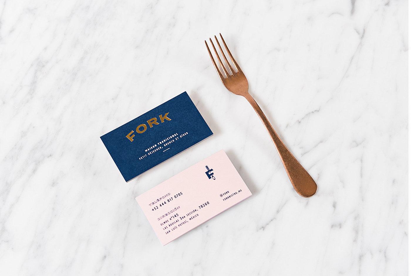 Fork品牌vi鉴赏:Blanca Jiménez