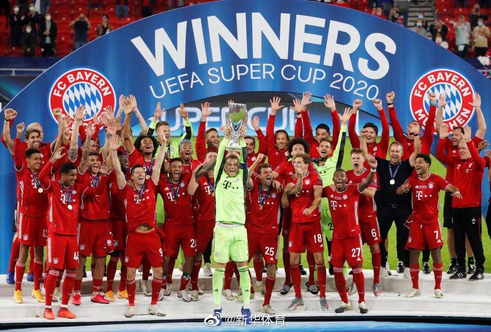 马丁内斯攻入致胜一球,拜仁赢得欧洲超级杯