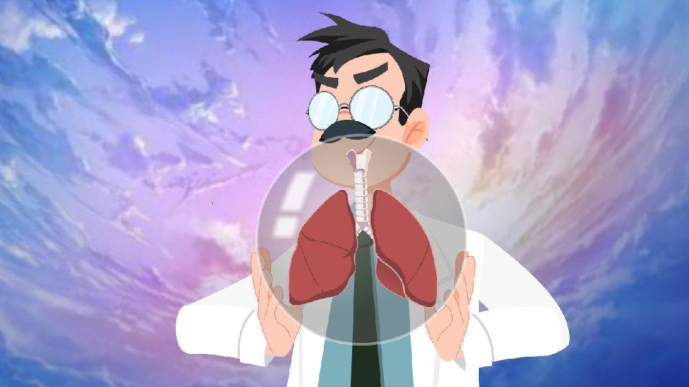 """吸烟、活动后气喘,反复咳嗽,小心肺气肿!好好的肺""""肿""""么了?"""