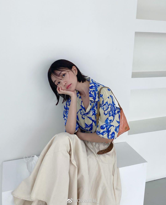 韩国女生的搭配法 | 非常有自己sense特色穿搭的一位博主
