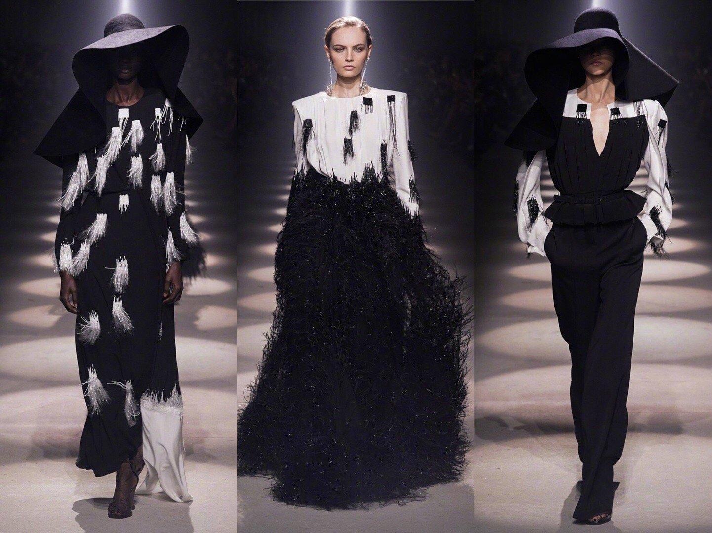 Givenchy F/W 2020. 纪梵希秋冬大秀,一如既往的黑色调为主