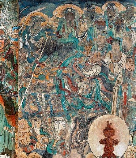 仙气十足的永乐宫壁画